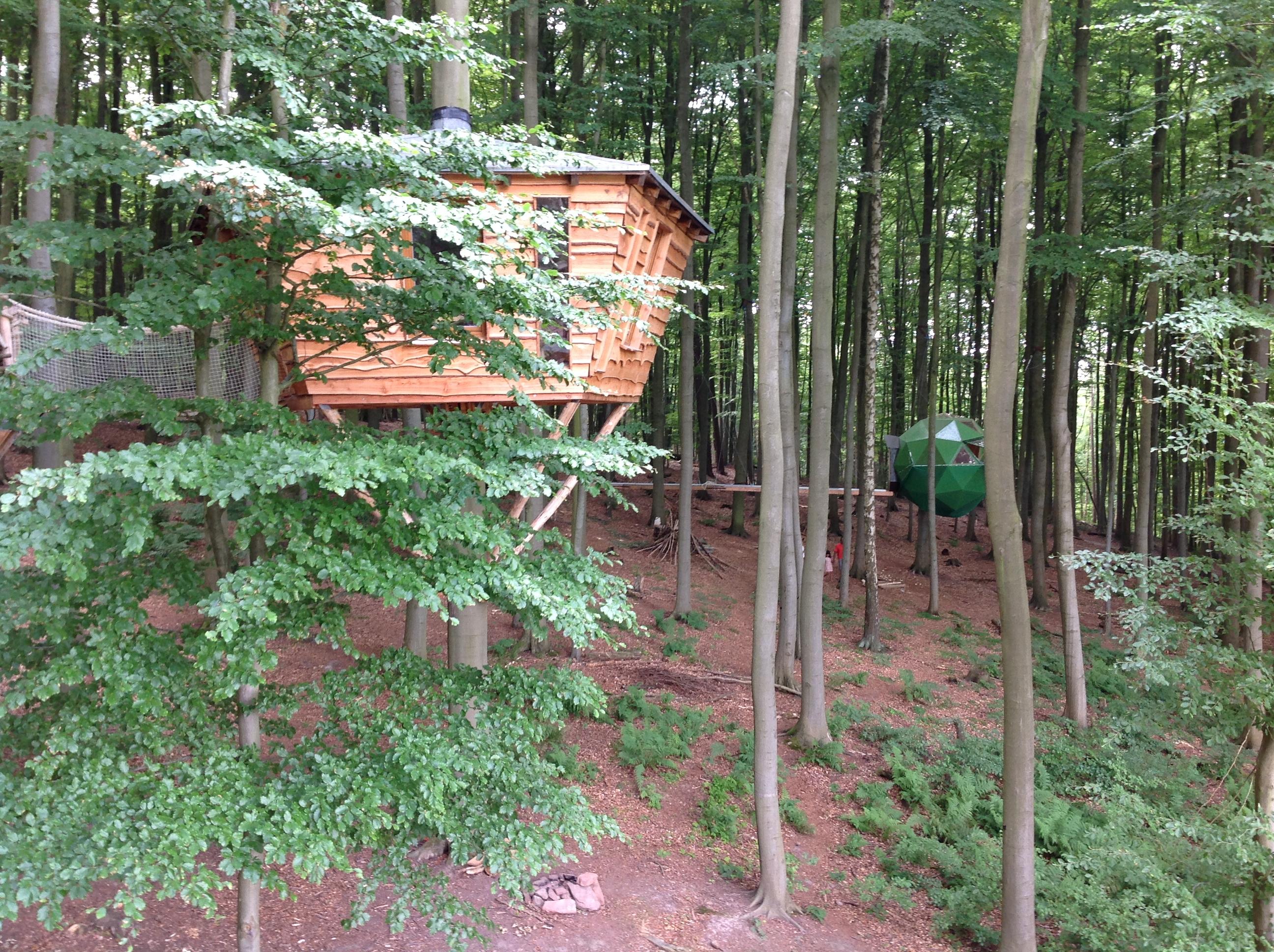 Baumhausdorf Robins Nest, Foto IK
