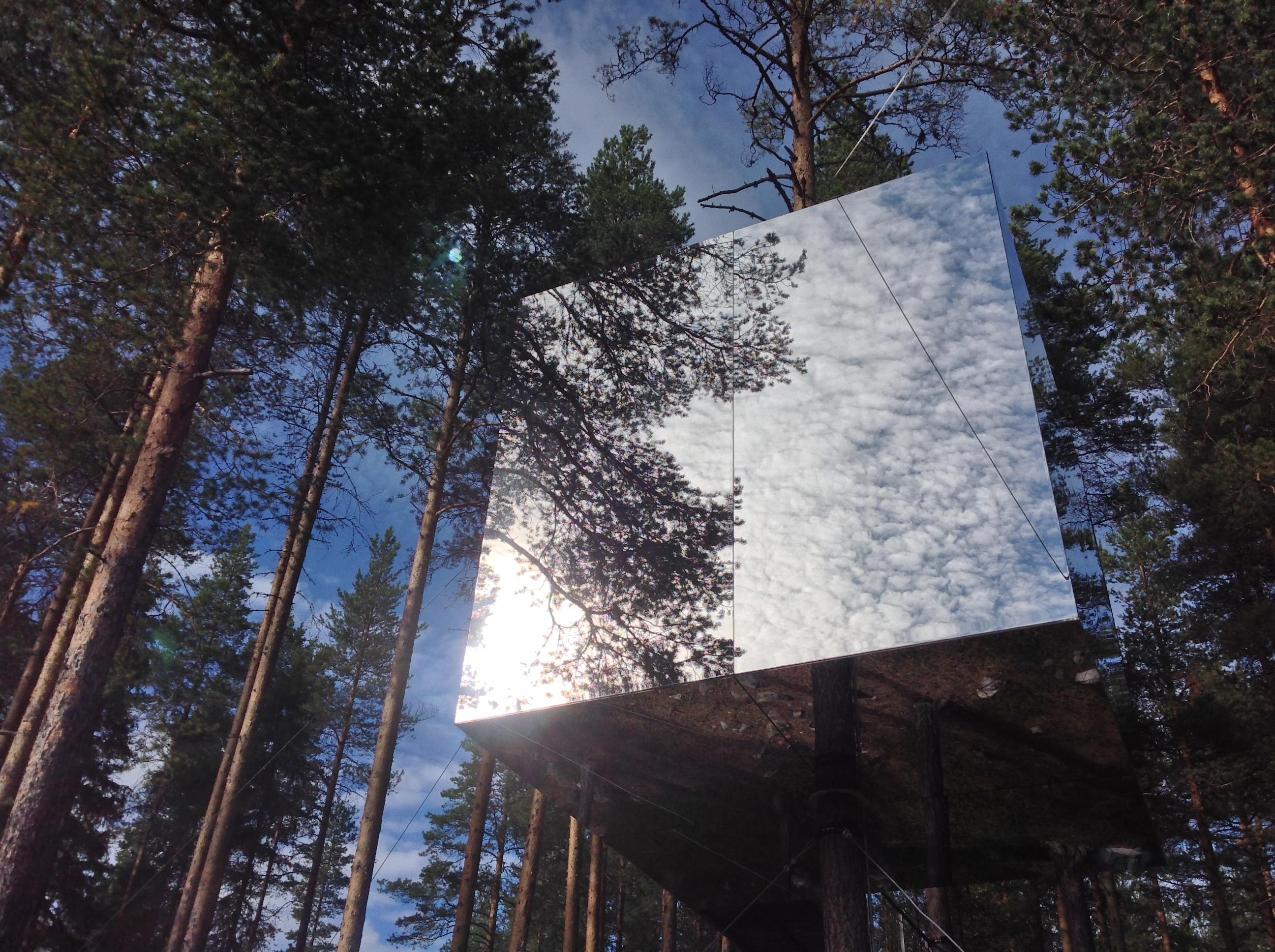 Spiegelbaumhaus, Treehotel, Schweden, Foto Ina Knobloch